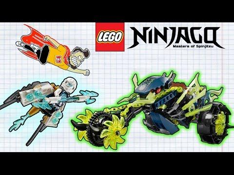 Лего Ниндзяго Засада на Мотоцикле - Эксклюзив Лего Ниндзяго - Lego 70730  CHAIN CYCLE AMBUSH