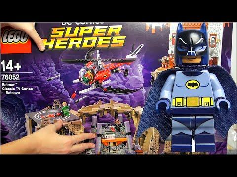 LEGO Batman Super Heroes 76052 - обзор минифигурки из набора Бэтмен Лего Пещера. Unboxing