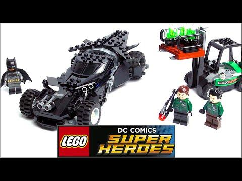 LEGO DC Comics: Бэтмен против Супермена Kryptonite Interception 76045 Speed Build Review