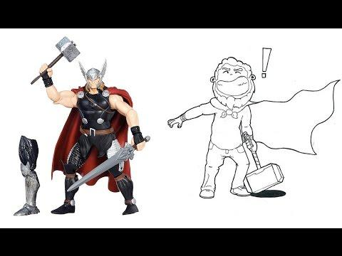 ТОР - Marvel Legends фигурка