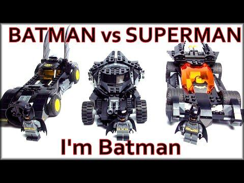 LEGO DC Super Heroes Batman V Superman Batmobile 76045 Kryptonite Interception. LEGO Обзоры Warlord