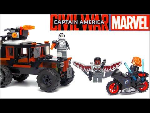 LEGO Marvel Super Heroes Опасное ограбление 76050 Обзор. Лего Гражданская война. LEGO Обзоры Warlord
