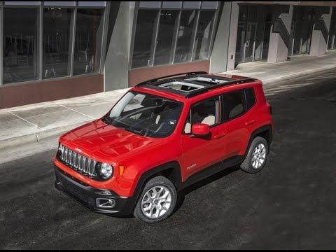 Тест-драйв. Jeep Renegade. Новинки авто  2015