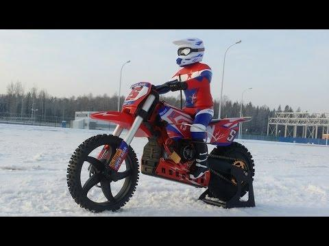 Крутой мотоцикл SKYRC SR5 1/4 Scale RC Motorcycle