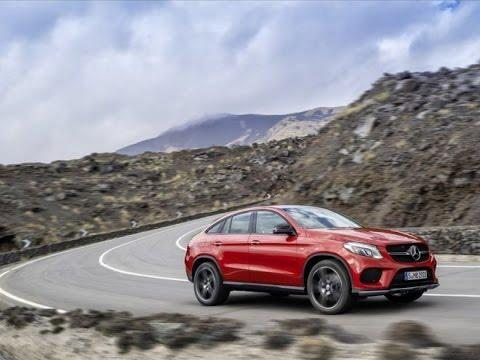 Тест-драйв. Mercedes Benz GLE Coupe. Новинки авто  2015