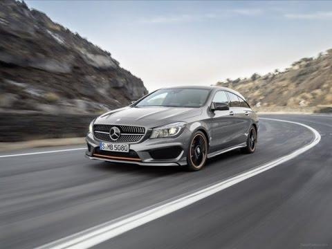 Тест-драйв. Mercedes Benz CLA Shooting Brake. Новинки авто  2015 -2016